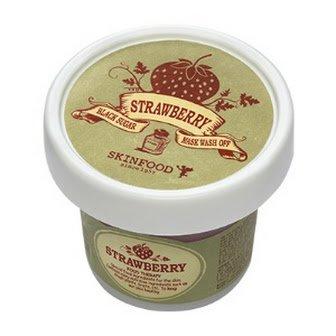 イチゴの香りが心地よいスキンフードSKINFOOD ブラックシュガーストロベリーマスクウォッシュオフ [並行輸...