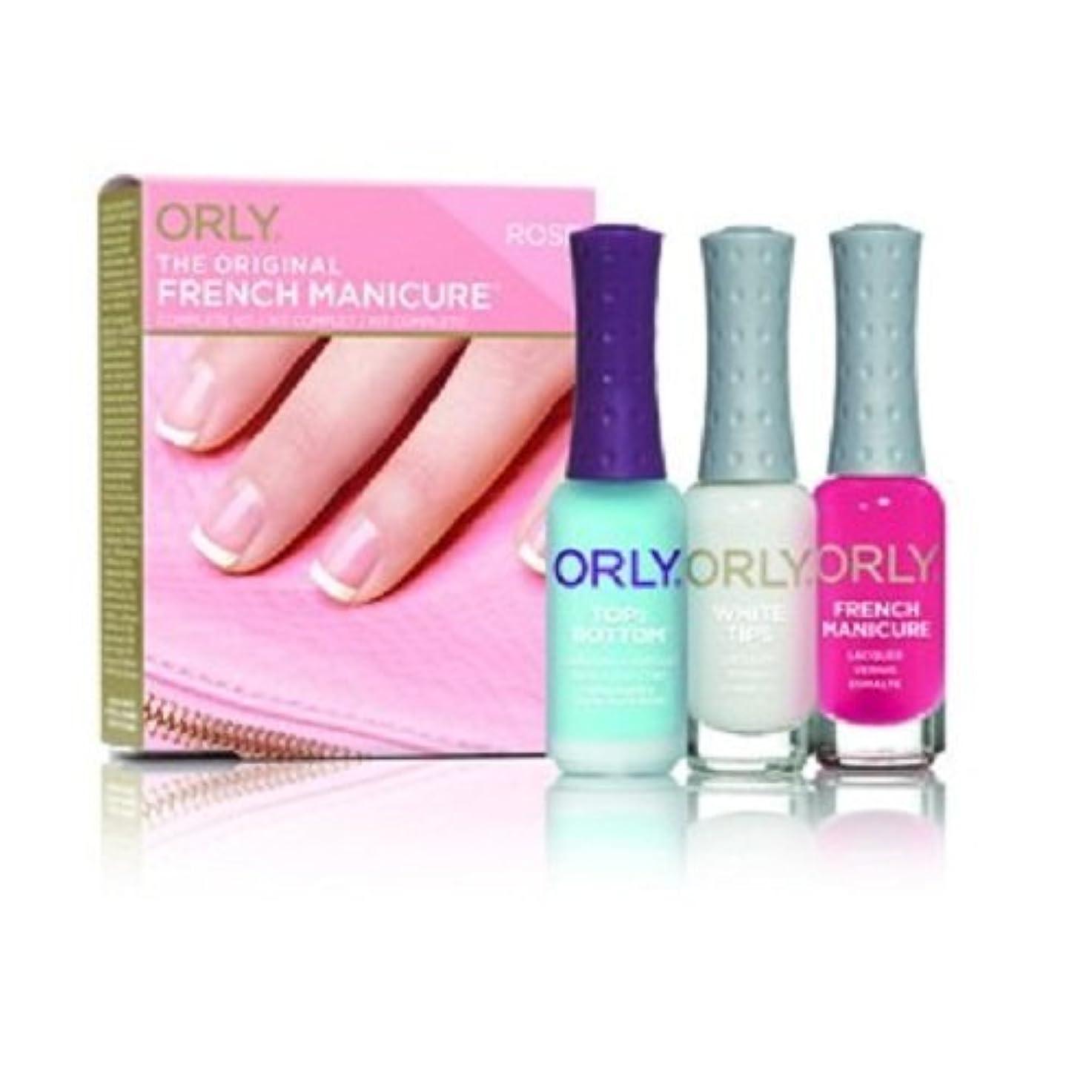 人気の配偶者流すOrly French Manicure Complete Kit - Rose