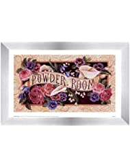 Powder Room by Karen Avery – 11 x 7インチ – アートプリントポスター LE_47468-F9935-11x7