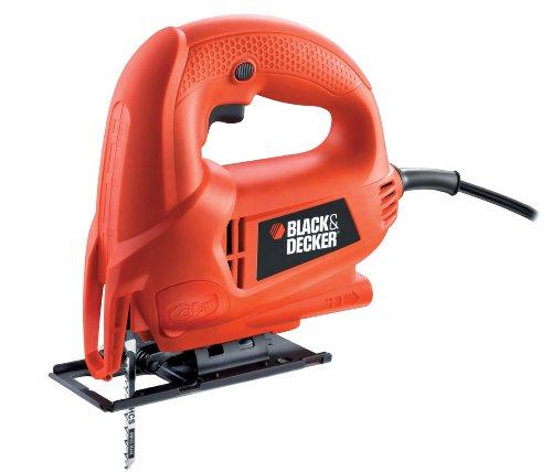 ブラックアンドデッカー(BLACK+DECKER) コード式 スマートジグソー オレンジ KS600E
