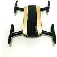 Springdoit クアドコプター飛行機無人機USB充電リモートコントロールWIFIリアルタイムトランスミッションドローンクリスマスギフト(金)