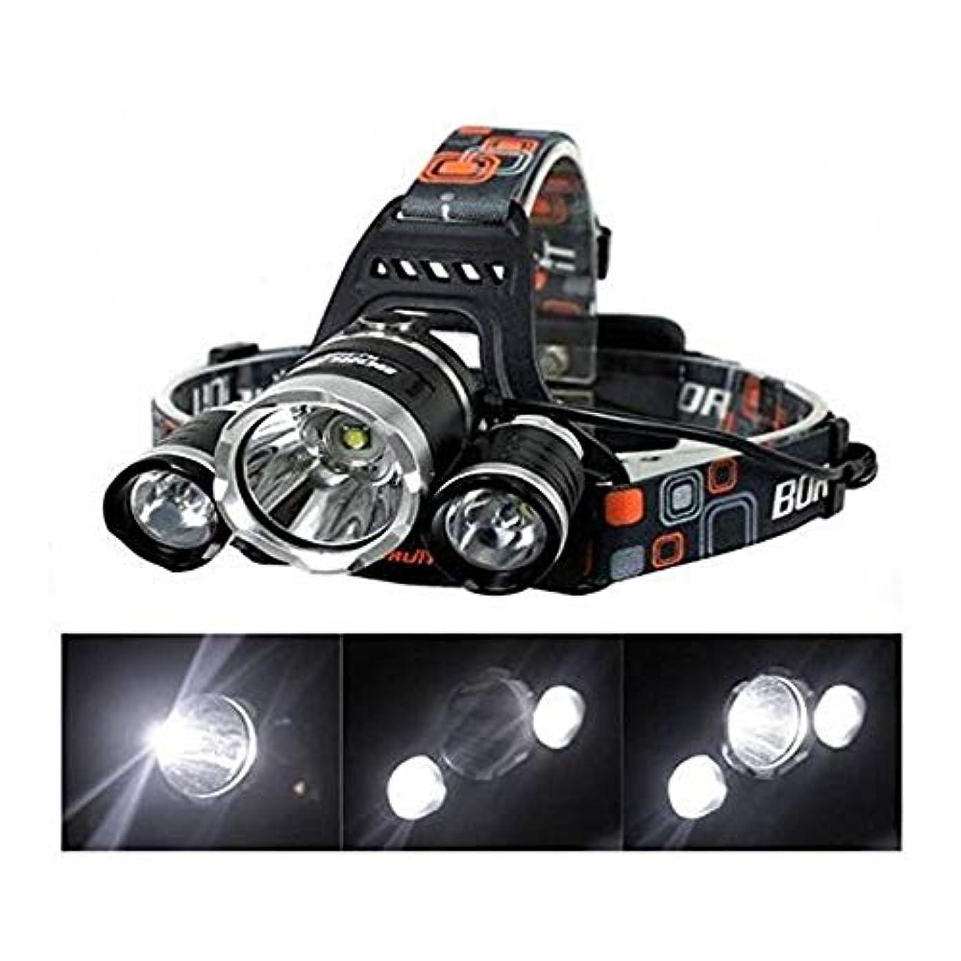 より多い読み書きのできないギャップMR ヘッドライト LEDライト アウトドア キャンプ 多機能 防水超強力 5000LM 4点灯モード 登山 夜釣り MR-CYUBEREI