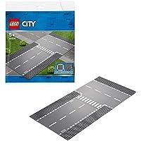 レゴ(LEGO) シティ ロードプレート 直線道路とT字路 60236 おもちゃ 車