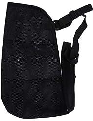 Healifty アームスリング通気性メッシュ骨折バンド肩イモビライザー(黒)