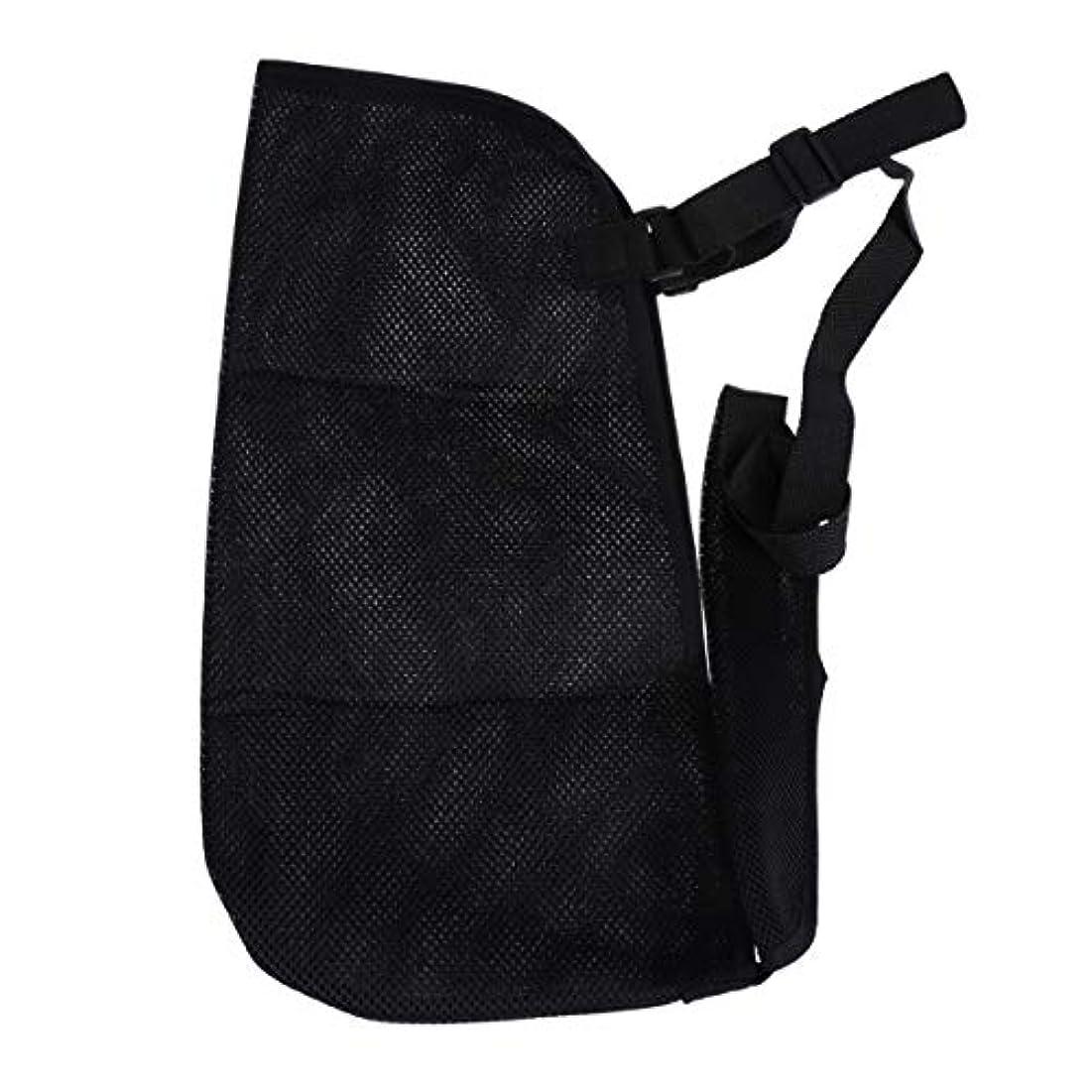 マルコポーロ粘性のボイコットHealifty アームスリング通気性メッシュ骨折バンド肩イモビライザー(黒)