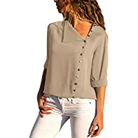 Steven McQueen Women's XS-2XL Button Down Shirt Mediterranean Blouse Tops