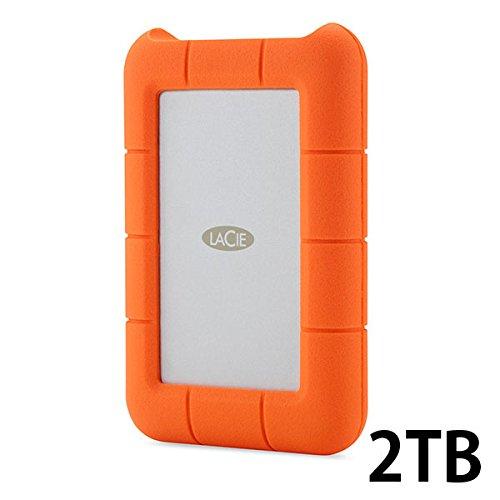 Lacie Rugged Thunderbolt & USB 3.0 Hard Drive【Mac対応・高速大容量ハードディスク】 (2TB)