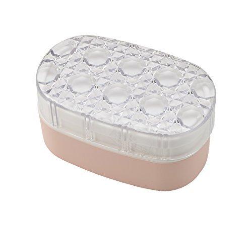 クラフトレシピ ジュエリアント オーバルランチ LPK 580ml 電子レンジ対応 食洗機対応 弁当箱 女性 2段 おしゃれ かわいい スリム 大きめ スクエア 子供用 女の子 二段 弁当 ランチボックス ランチBOX