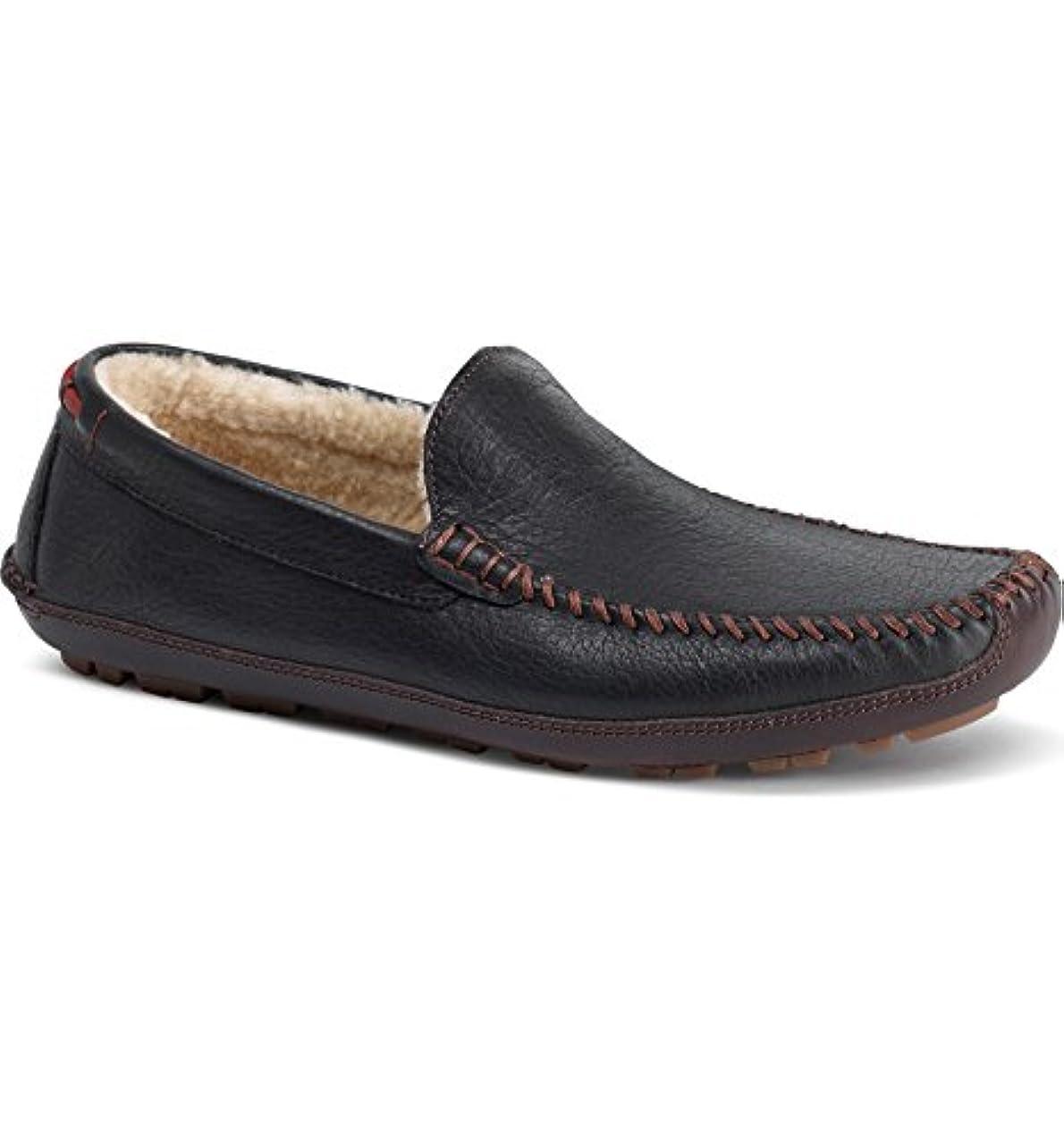 忠実に賞賛治す[トラスク] メンズ スリッポン?ローファー Trask Denton Driving Shoe with Genuine S [並行輸入品]