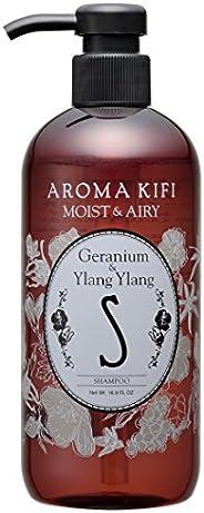 AROMAKIFI(アロマキフィ)モイスト&エアリー シャンプー 500ml ゼラニウム&am
