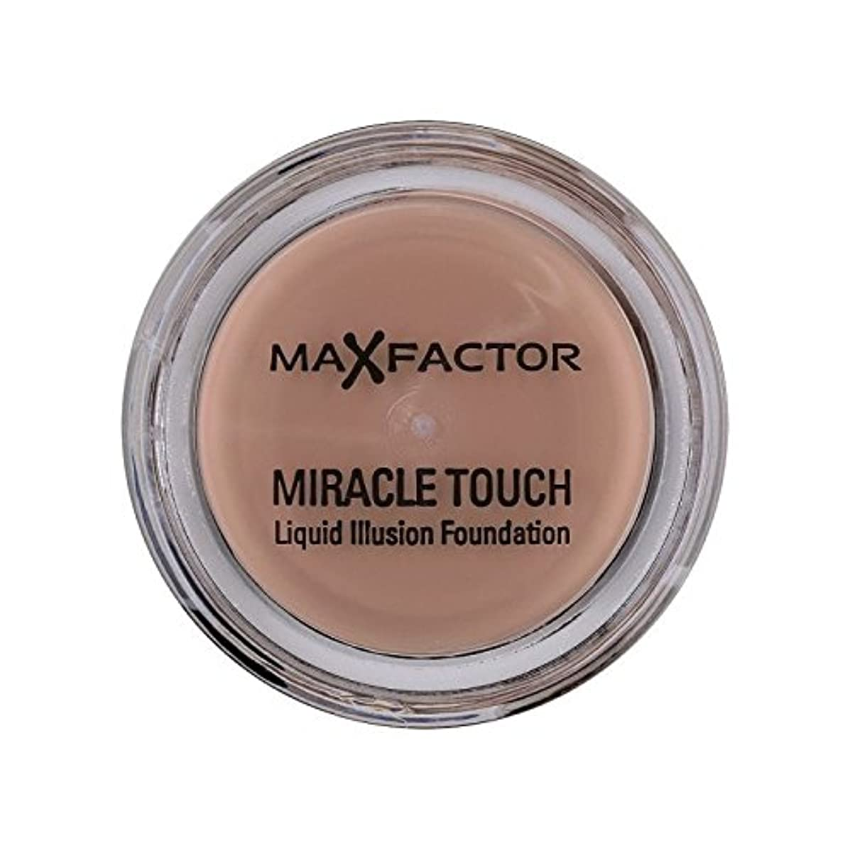 あいさつ倉庫乳白色Max Factor Miracle Touch Foundation Natural 70 - マックスファクターの奇跡のタッチ基盤の自然70 [並行輸入品]