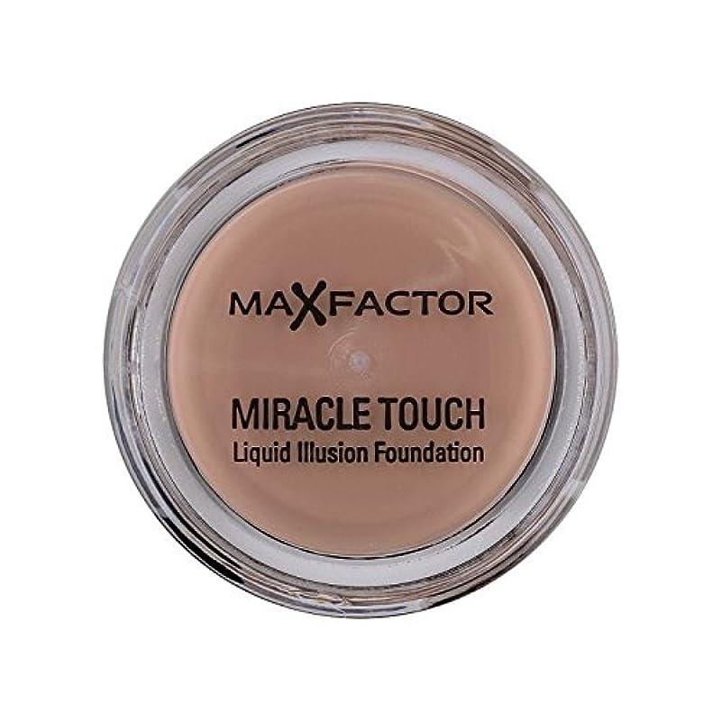 気味の悪いトライアスリート消えるMax Factor Miracle Touch Foundation Natural 70 (Pack of 6) - マックスファクターの奇跡のタッチ基盤の自然70 x6 [並行輸入品]