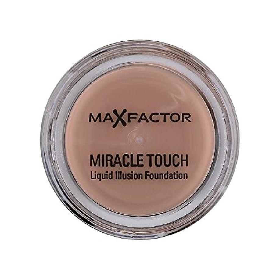 ブロック毛細血管実験的Max Factor Miracle Touch Foundation Natural 70 - マックスファクターの奇跡のタッチ基盤の自然70 [並行輸入品]