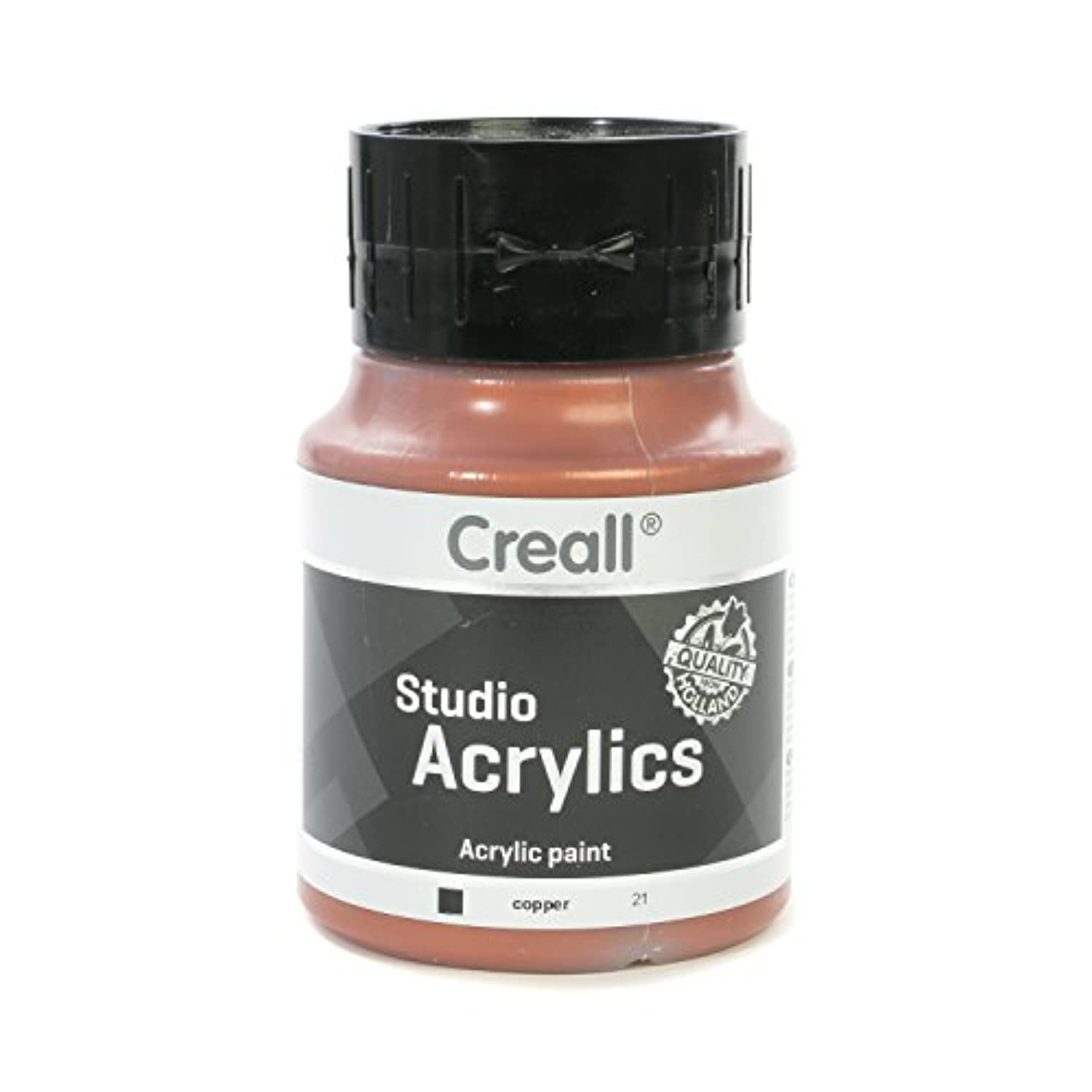 American Educational Products A-05021 Creall-Studio-Acrylics 500Ml 21 Copper