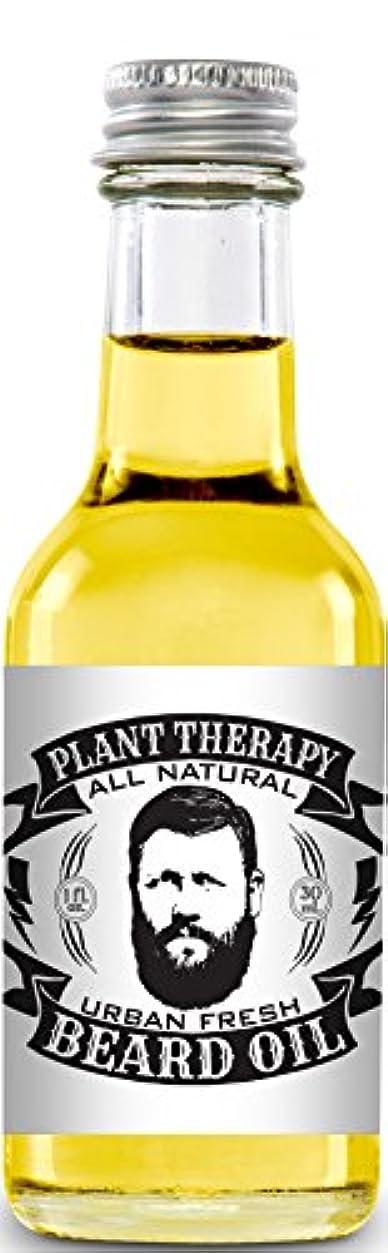バルコニー手荷物司書Beard Oil, All Natural Beard Oil Made with 100% Pure Essential Oils, Creates a Softer, Healthier Beard (Urban Fresh) by Plant Therapy Essential Oils