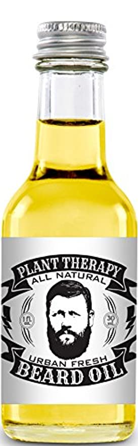 Beard Oil, All Natural Beard Oil Made with 100% Pure Essential Oils, Creates a Softer, Healthier Beard (Urban...
