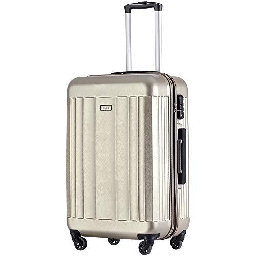a1a71ea607 TANOBI おしゃれな TSAロック スーツケース キャリーケース キャリーバッグ 5色3サイズ 超軽量