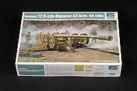 トランペッター 1/35 ドイツ Pak44 128mm対戦車砲 プラモデル