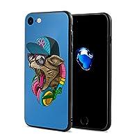 Epoch Ray クレイジー キャット スマホケース IPhone8 ケース / IPhone7 ケース 携帯カバー アイフォン7/8カバー 滑り止め おしゃれ 軽量 薄型 人気