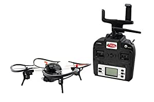 Extreme Fliers Micro Drone 3.0 Combo Pack WIFI Quadcopter with 720P HD Camera Module, FPV VR Viewer and Smartphone Holder [並行輸入品]