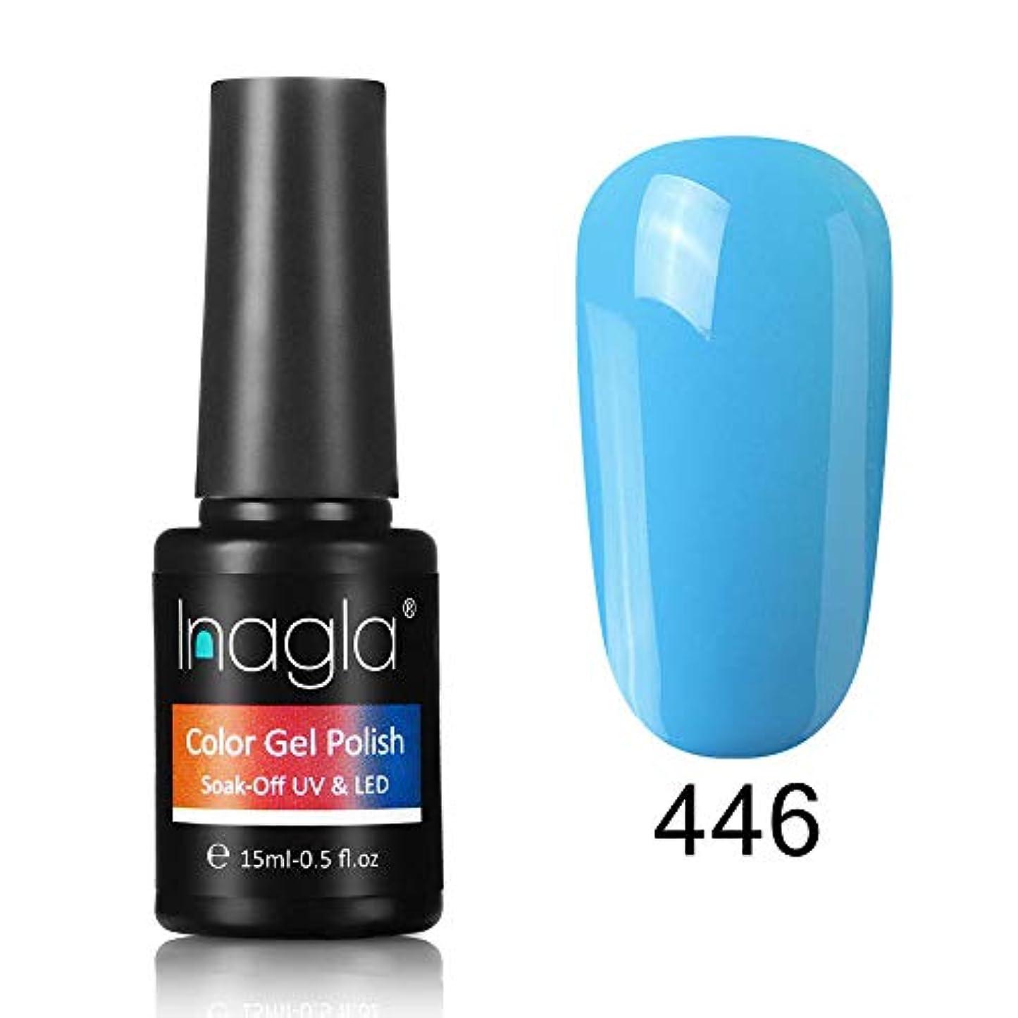 枠酸度いじめっ子Inagla ジェルネイル カラージェル 1色入り 15ml-GNS446