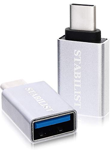 『STAB ILIST usb-type-c-変換 標準USBC変換アダプタ 2個 タイプc type-c usb-a-usb-c変換コネクタ usbc typec 3.1 OTG』のトップ画像