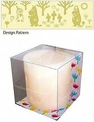 kameyama candle(カメヤマキャンドル) ムーミン LEDキャンドル 「 フォレスト 」 キャンドル 75x75x75mm (A4490010)