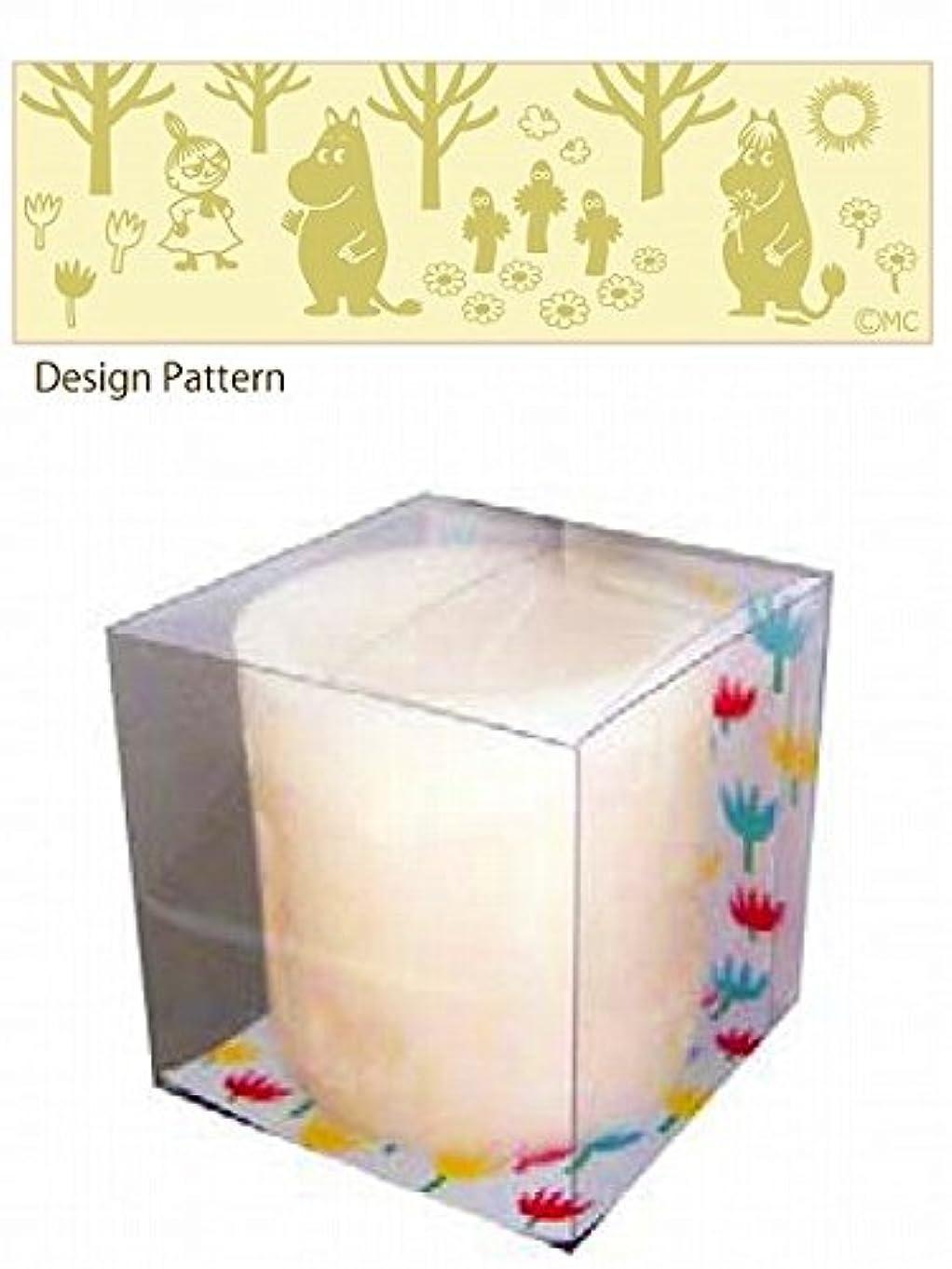 排出人形最初にkameyama candle(カメヤマキャンドル) ムーミン LEDキャンドル 「 フォレスト 」 キャンドル 75x75x75mm (A4490010)