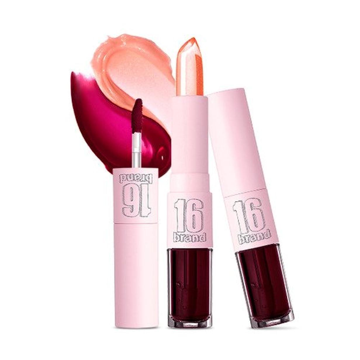 注入する固執何よりも16brand T&G [Tint + Glow Balm] 3.2g + 3g/16ブランド T&G [ティント + グロウ バーム] 3.2g + 3g (#Pink Ade) [並行輸入品]