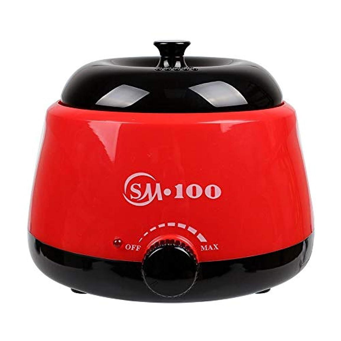 粘性のベックス新鮮な調節可能な温度のワックスマシン、女性および男性500CCのための多機能の家のワックスが付いている毛の取り外しのための専門の電気ワックスのウォーマーのヒーターのメルター