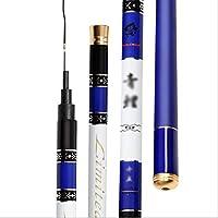MXLTIANDAO 釣り竿 携帯型 伸縮可能 高炭素 軽量 丈夫 海釣り 釣具 ロッド 初心者 上級者 (Color : Blue, Size : 3.9)