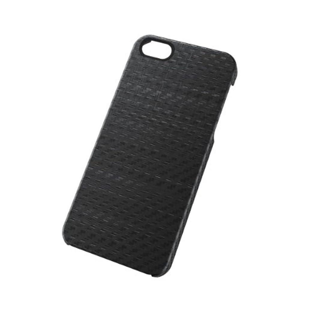 近代化するシャンパン喪ELECOM iPhone5/5S用 シェルカバー for Men ブラック 液晶フィルム付き PS-A12PVD01