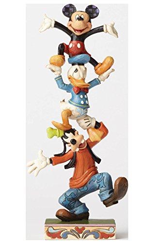 ディズニー・トラディションズ/ グーフィー&ドナルドダック&ミッキーマウス スタチュー