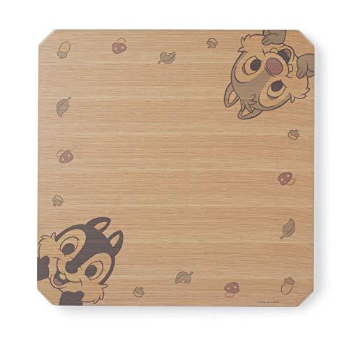[ベルメゾン] ディズニー 天板が外せる リビング テーブル チップ&デール(ナチュラル) タイプ:正方形