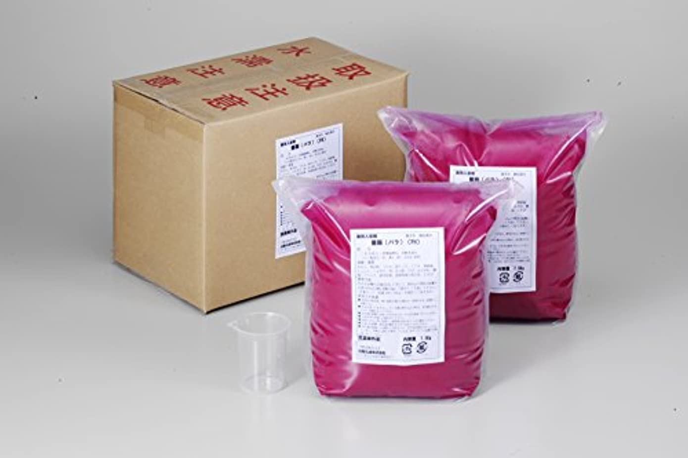 範囲廃棄ポーン業務用入浴剤「ローズ」15kg(7.5kg×2)