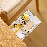 TuTuShop Under Table Drawer, Hidden Self-Adhesive Pencil Tray Drawer,Under Desk Holder Storage Box, Stationery Pencil Storage