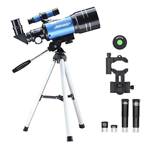 Aomekie 天体望遠鏡 子供 初心者 70mm大口径 B07NZS3HJF 1枚目