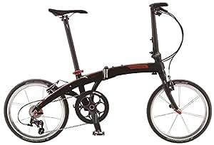 DAHON(ダホン) 折りたたみ自転車 Mu(ミュー) LT11 インターナショナルモデル 20インチ 2015年モデル 外装11段変速 アルミフレーム カーボンパーツ Matt Black