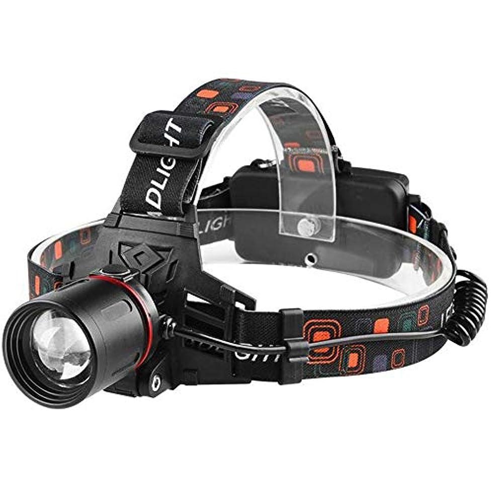 コンソールトランスミッション一晩Viugreum ヘッドライト LEDヘッドライト 充電式 多機能 USB充電 高輝度LED 長い電池寿命 屋外作業 夜釣り 登山に適用