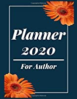 Planner 2020 for author: Jan 1, 2020 to Dec 31, 2020 : Weekly & Monthly Planner + Calendar Views (2020 Pretty Simple Planners)