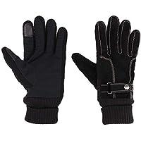 Gisdanchz カジュアル ファッション 革 手袋 防寒 防水 ビジネス用 グローブ フィット