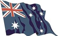 ステッカー‐自動車用ステッカー フラグ A-LS13 Australia - オーストラリア 30 cm 車やリアウィンドウのために