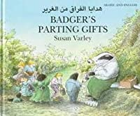 Badger's Parting Gifts: Arabic/English