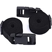 2X Adjustable Luggage Straps, Utility Strap for Outdoor Compression Bundling
