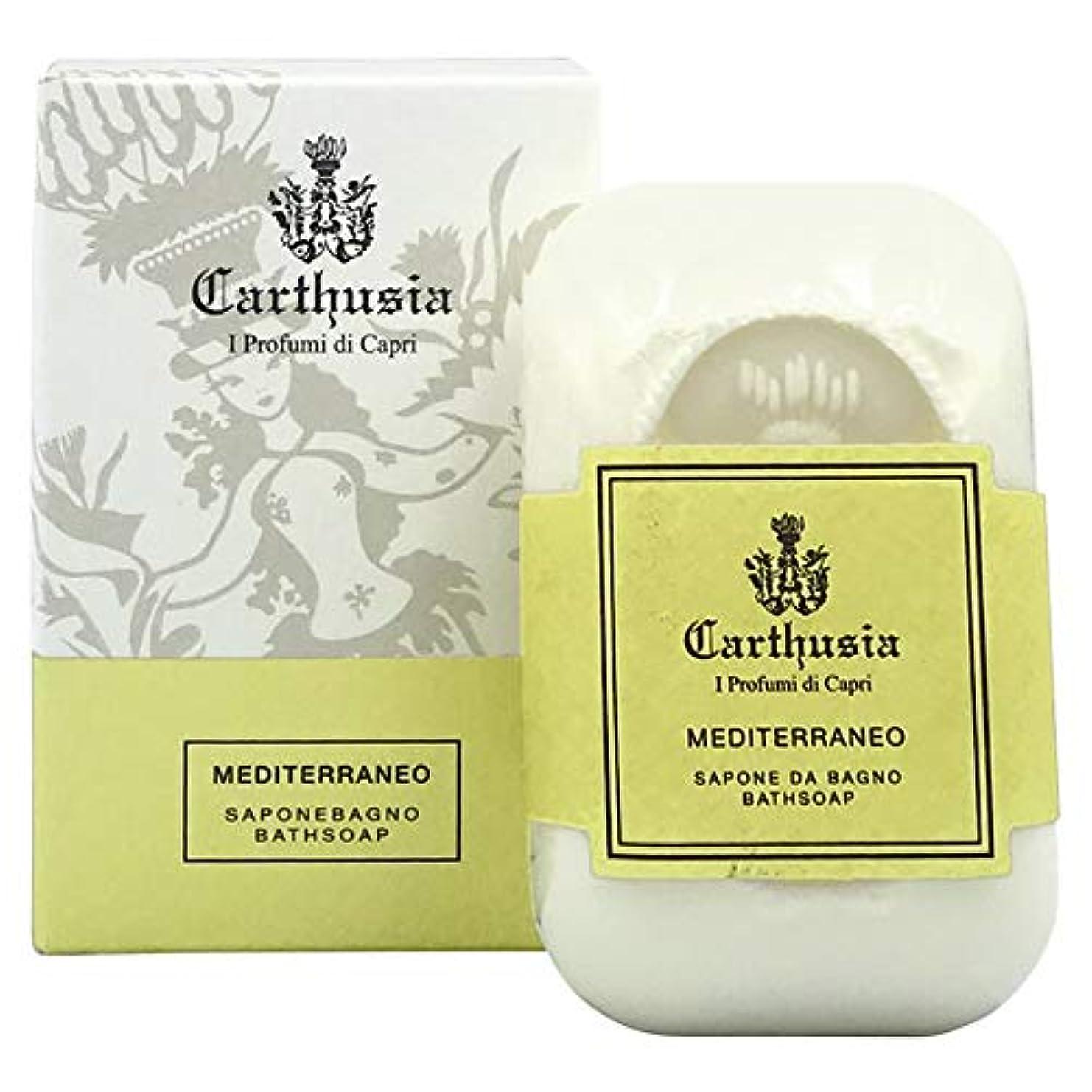 地上で降臨よりカルトゥージア メディテラネオ ソープ(化粧石鹸) 125g CARTHUSIA MEDITERRANEO BATH SOAP [並行輸入品]