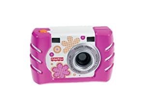フィッシャープライス キッズ・タフ・デジタルカメラ スリム ピンク (W1460)