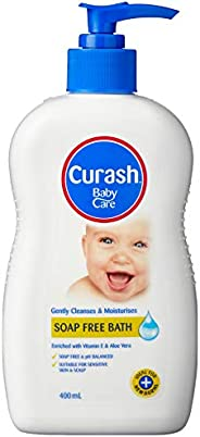 Curash Soap Free Baby Bath, 400mL