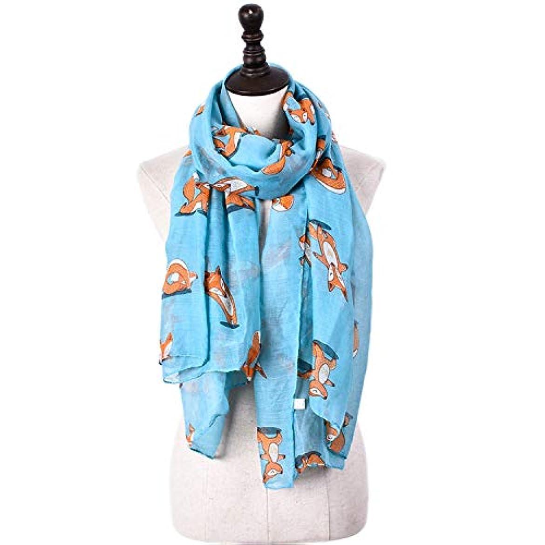 トーク幹獲物スカーフ バリニーズ糸 フォックスプリント 可愛い 四季通用 ショール 多機能 防寒 冷房対策 女性向け 6色選択 ストール  おしゃれ