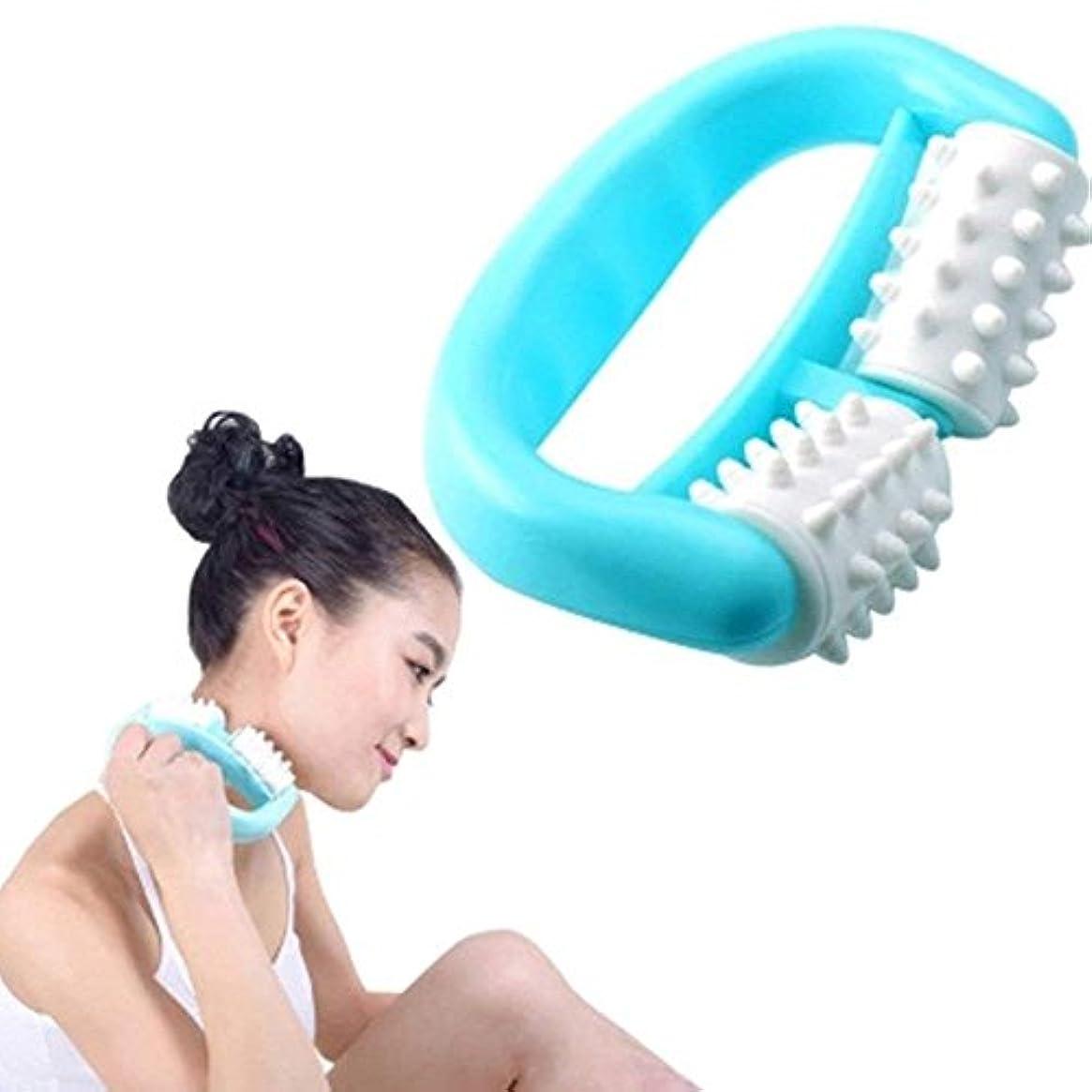 FC-工場 マッサージ ブラシ筋膜リリース 脂肪除去 ボディシェイプ  足 ほぐし 血行促進 浮腫み解消  疲労回復 ローラー ダイエットボディローラー セルフケア