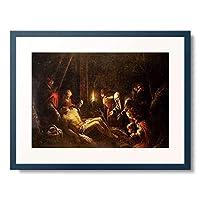 バッサーノ Bassano (フランチェスコ[息子] Francesco da Ponte),1549-1592 「The Lamentation of Christ.」 額装アート作品